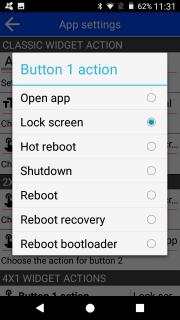 Screen Lock and reboot
