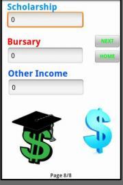 University Budget Calculator