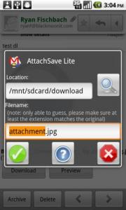 AttachSave Lite