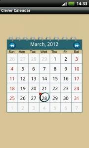 Clever Calendar