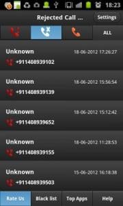 Missed call Tracker