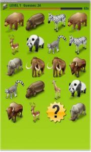 Wild Animals Memory