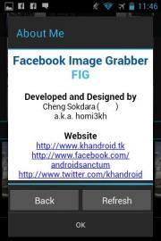 Facebook Image Grabber