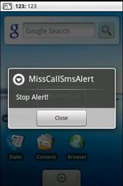 MissCallSMSAlert