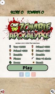 One Tap Zombie Apocalypse Free