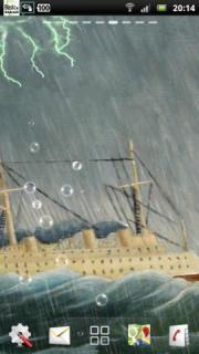 Thunderstorm Cruise Ship