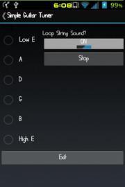 Simple Guitar Tuner