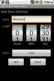 HIIT It Workout Timer