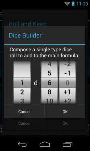 Quick Dice Roller