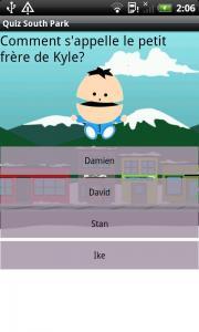 Quiz South Park
