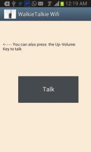 Walkie Talkie Wifi