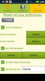 Call Preferences