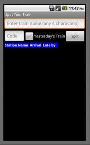 Spot Your Train