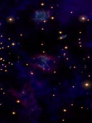 Cosmic journey live wallpaper