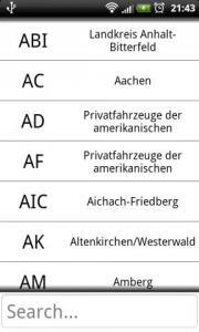 Vehicle registration plates