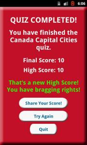 Learn Canada and Capital Cities