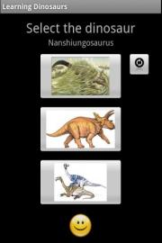 Learning Dinosaurs