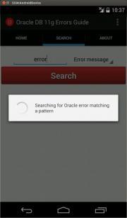 Oracle DB 11g Errors