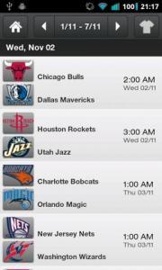 Sports Schedules 2011