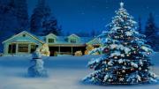 Christmas Tree And Snowman