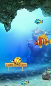 Free Magic Fish Aquarium Wallpaper