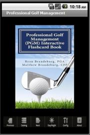 Professional Golf Management Interactive Flashcard Book