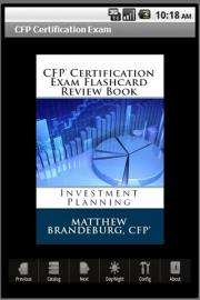 CFP Certification Exam Flashcard Review Book - Investments