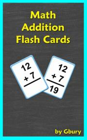 Math Addition Flash Cards