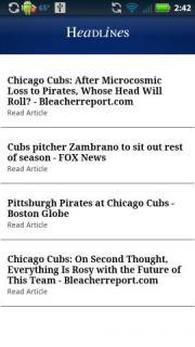Chicago C Baseball News