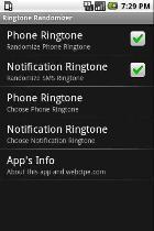 Ringtone Randomizer Trial