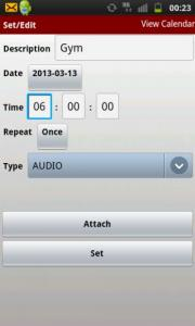 Music My Alarm