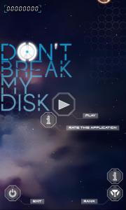 Don't break my disc