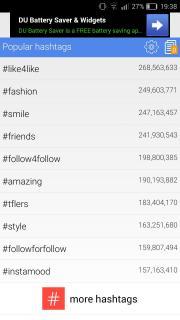 Hashtags Moment
