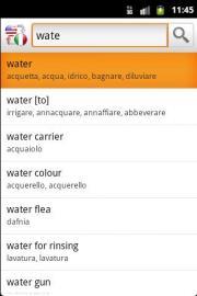 English/Italian Offline Translator