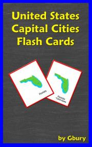 United States Capital Cities Flash Cards