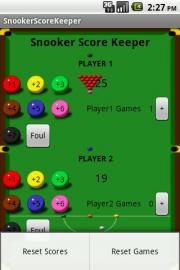 SnookerScoreKeeper