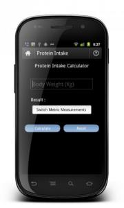 My Fitness Calculator