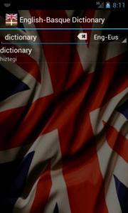 English-Basque Dictionary FREE