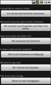 English/German Offline Translator