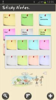 Sticky Notes!