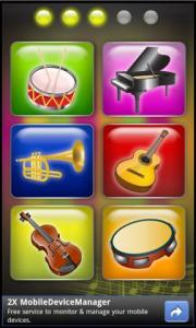 Kids Musical Challenges Tab