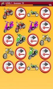 Bikes Memory Game