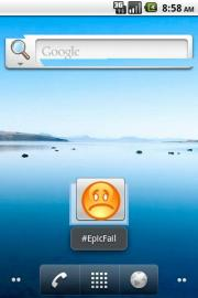EpicFail Widget