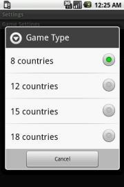 Countries Memory Game
