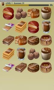 Chocolate Memory Game