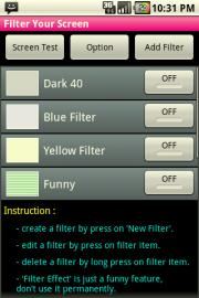Filter Your Screen