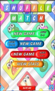 Shuffle Match for Kids