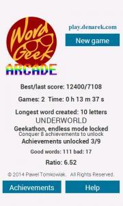 Word Geek Arcade