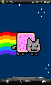 Nyan Live Wallpaper