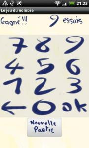 The Number's game